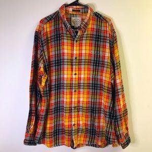St John's Bay XL Flannel Shirt Multi color